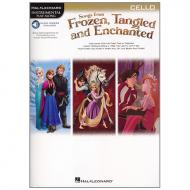 Songs from Frozen, Tangled and Enchanted for Cello (+Online Audio)