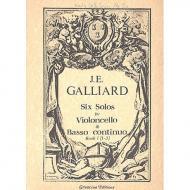 Galliard, J.: 6 Solos Band. 1 (Nr.1-3)