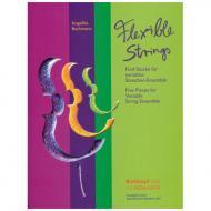 Bachmann, A.: Flexible Strings – 5 Stücke für variables Ensemble (+CD-ROM)