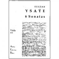 Ysaye, E.: 6 Violasonaten