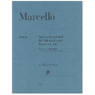 Marcello, B.: Sonate Nr. 1 F-dur