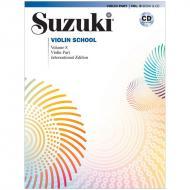 Suzuki Violin School Vol. 8 (+CD)