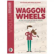 Colledge, K. & H.: Waggon Wheels for Violin (+CD)