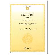 Mozart, W. A.: Sonate KV 381 D-Dur
