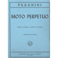 Paganini, N.: Moto perpetuo op. 11b