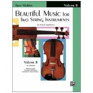 Applebaum, S.: Beautiful Music for two String Instruments Vol. 2 – Violine