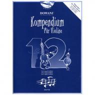 Kompendium für Violine – Band 12 (+ 2 CD's)