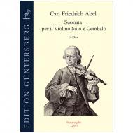 Abel, C. F.: Violinsonate G-Dur