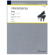 Penderecki, K.: Aria