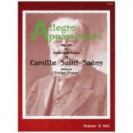Saint-Saëns, C.: Allegro Appassionato Op. 43 h-Moll