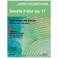 Beethoven, L. v.: Sonate Op. 17 F-Dur