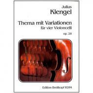 Klengel, J.: Thema mit Variationen Op. 28