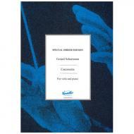 Schurmann, G.: Canzonetta (1957/2010)