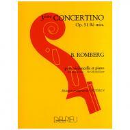 Romberg, B.: Concertino Op. 51 Nr. 3 d-Moll