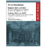 Vieuxtemps, H.: 2 Kadenzen zum Beethoven Violinkonzert