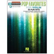 Pop Favorites for Violin (+Online Audio)