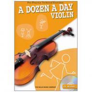 A dozen a day – Violin (+CD)