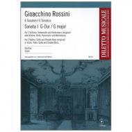 Rossini, G. A.: Sonata Nr. 1 G-Dur – Partitur
