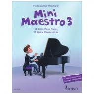 Heumann, H.: Mini Maestro Band 3 – 50 kleine Klavierstücke