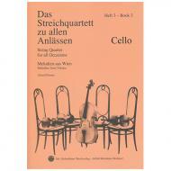 Das Streichquartett zu allen Anlässen Band 3 – Violoncello
