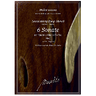 Mercy, Lewis (Merci, Luigi) : 6 Sonate Op. 3