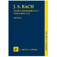 Bach, J. S.: Cembalokonzert Nr. 2 BWV 1053 F-Dur