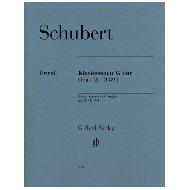 Schubert, F.: Klaviersonate G-Dur Op. 78 D 894