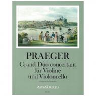 Praeger, H. A.: Grand Duo concertant Op. 41 F-Dur