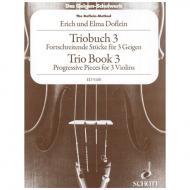 Doflein, E.: Das Geigen-Schulwerk Triobuch Band 3