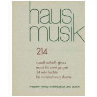 Suthoff-Groß, R.: Musik für zwei Geigen