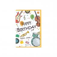 Grußkarte Happy Birthday