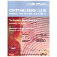 Simandl, F.: Kontrabassschule III – Die hohe Schule Band 9