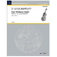 Stutschewsky, J.: Das Violoncellospiel Band 5