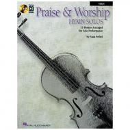 Praise and worship hymn solos (+Online Audio )