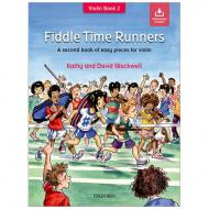 Blackwell, K. & D.: Fiddle Time Runners – Band 2 (+Online Audio)