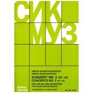 Schostakowitsch, D.: Violinkonzert Nr. 2 Op. 129 (1967)