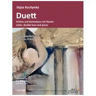 Kuchynka, V.: Duett für Violine und Kontrabass mit Klavier