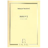 Martinu, B.: Duo Nr. 2 für Violine und Viola