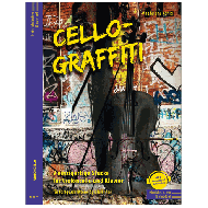 König, M.: Cello-Graffiti (+Online Audio)