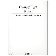 Ligeti, G.: Sonate