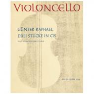 Raphael, G.: Drei Stücke in cis
