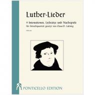 Luther-Lieder für Streichquartett