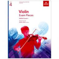 ABRSM: Violin Exam Pieces Grade 4 (2020-2023)
