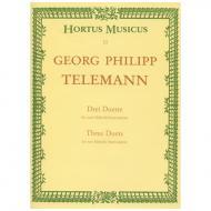 Telemann, G. Ph.: Drei Duette