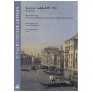 Vivaldi, A.: Violinkonzert Op. 3/6 RV 356 a-Moll