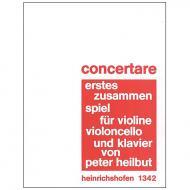 Heilbutt, P.: Concertare – Erstes Zusammenspiel