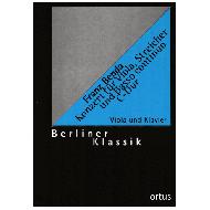 Benda, F.: Konzert für Viola, Streicher und Basso continuo C-Dur – Klavierauszug