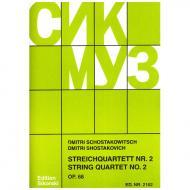 Schostakowitsch, D.: Streichquartett Nr. 2, op. 68