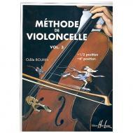 Bourin, O.: Méthode de violoncelle Vol. 3
