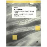Vivaldi, A.: Violinkonzert Op. 7/2 RV 299 PV 102 G-Dur